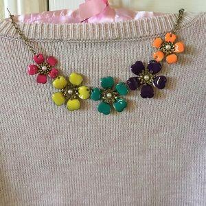 Jewelry - Enamel flower 🌸 💐 necklace